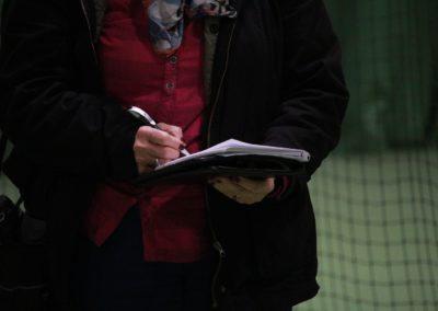 Lokale Presse berichtet über SAT1 Fernsehen auf dem UTHC Tennis-Campus Usingen - Fernsehreportage_1021