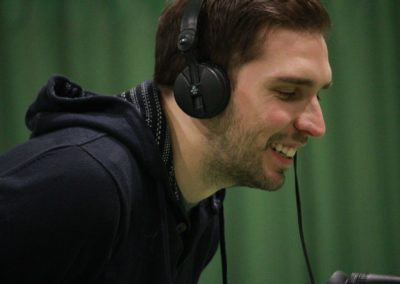SAT1 Fernsehen beim Interview auf dem UTHC Tennis-Campus Usingen - Fernsehreportage
