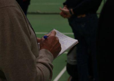 Lokale Presse verfolgt SAT1 Fernsehen auf dem UTHC Tennis-Campus Usingen - Fernsehreportage_1046