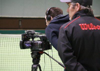 SAT1 Fernsehen dreht auf dem UTHC Tennis-Campus Usingen - Fernsehreportage_1056