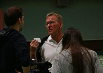 SAT1 Fernsehen im Interview mir Dirk Rabis. UTHC Tennis-Campus Usingen - Fernsehreportage_1087