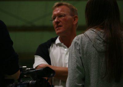 SAT1 Fernsehen im Interview mir Dirk Rabis. UTHC Tennis-Campus Usingen - Fernsehreportage_1099