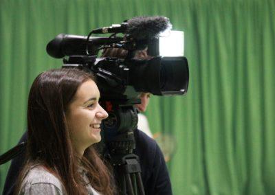 SAT1 Fernsehen zu Gast auf dem UTHC Tennis-Campus Usingen - Fernsehreportage_1111