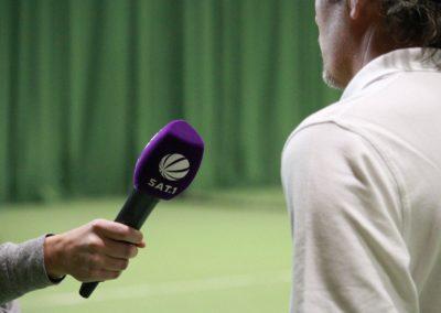 Tennis Cheftrainer Carlos Tarantino im SAT1 Fernsehen. UTHC Tennis-Campus Usingen - Interview_1132