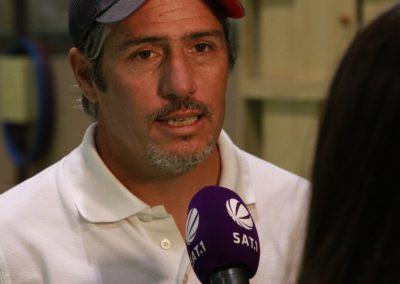 Tennis Cheftrainer Carlos Tarantino im SAT1 Fernsehen. UTHC Tennis-Campus Usingen - Interview_1175