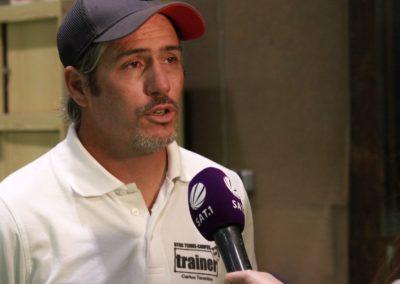 Tennis Cheftrainer Carlos Tarantino im SAT1 Fernsehen. UTHC Tennis-Campus Usingen - Interview_1177