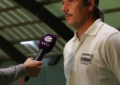 Tennis Cheftrainer Carlos Tarantino im SAT1 Fernsehen. UTHC Tennis-Campus Usingen - Interview_1200