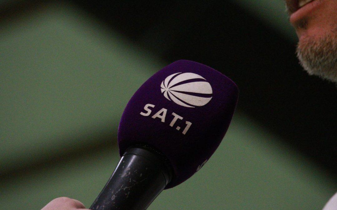 Mit SAT.1 nun auch das Fernsehen zu Gast beim UTHC