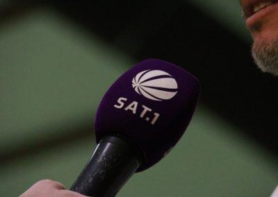 Tennis Cheftrainer Carlos Tarantino im SAT1 Fernsehen. UTHC Tennis-Campus Usingen - Interview_1218