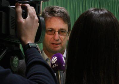 Michael Guth im SAT1 Fernsehen. UTHC Tennis-Campus Usingen - Reportage_1264