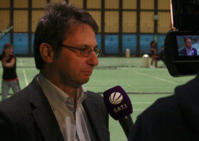 Michael Guth im SAT1 Fernsehen. UTHC Tennis-Campus Usingen - Reportage