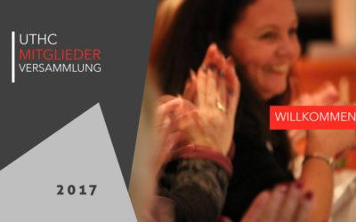 Einladung zur UTHC-Mitgliederversammlung 2017