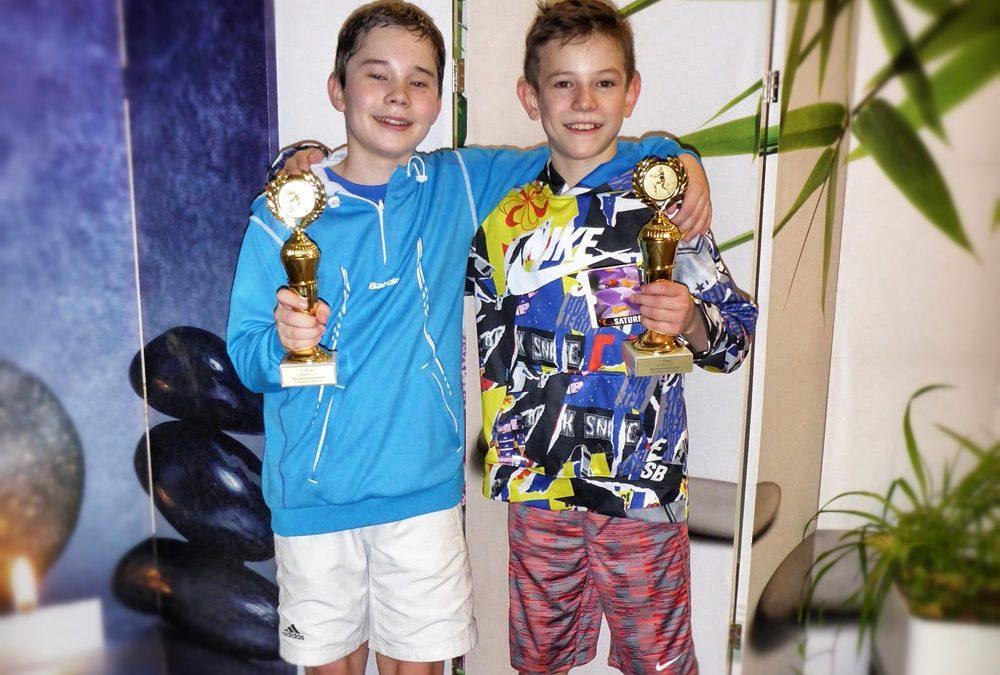 UTHC-Tennisnachwuchs Niklas Baucke jetzt 5 facher Bezirksmeister