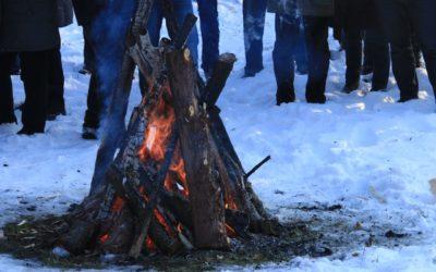 Traumhafte Winterwanderung – Heißer Apfelwein und knirschender Schnee