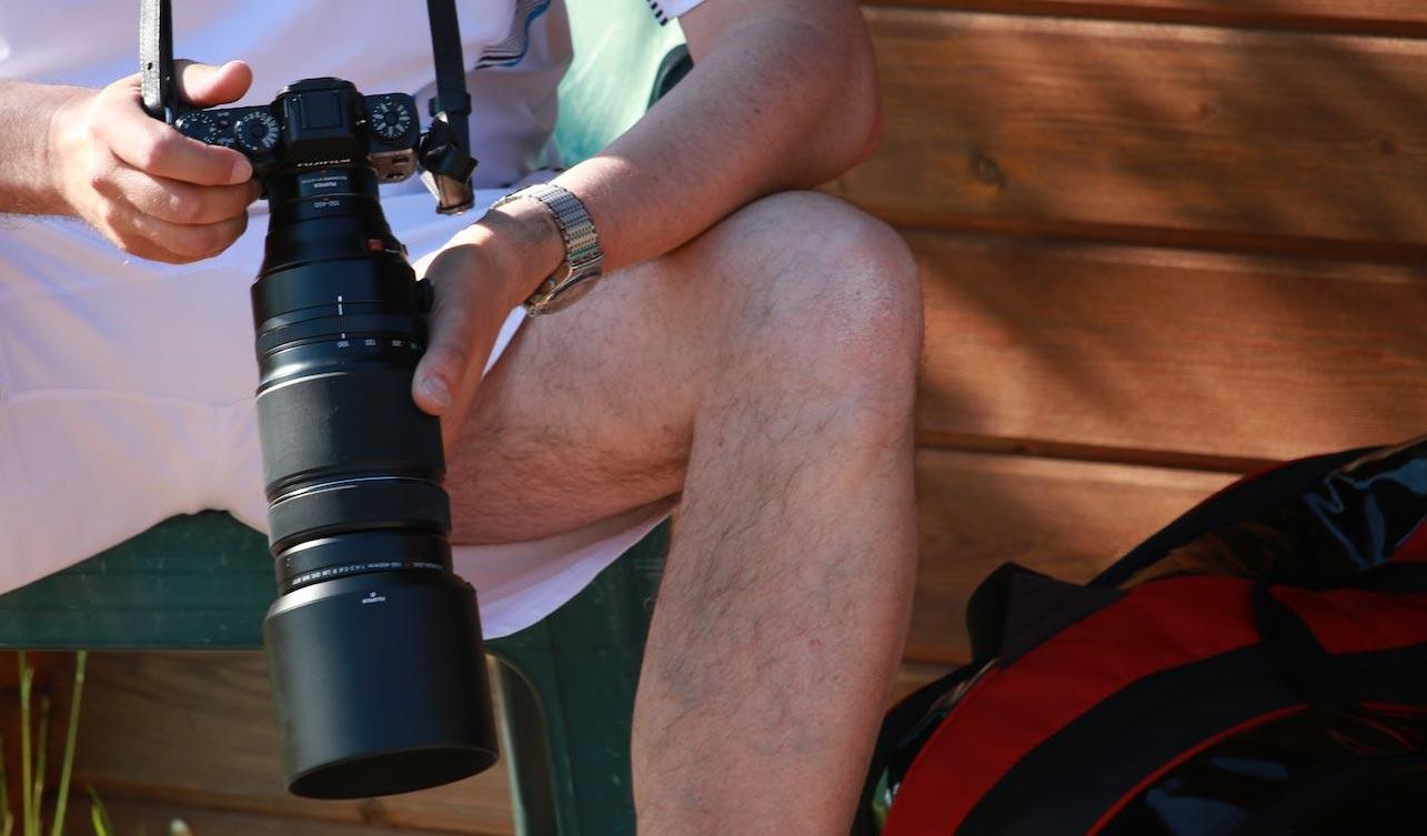 Sorgen für beeindruckende Momentaufnahmen. Die Fotografen des UTHC.