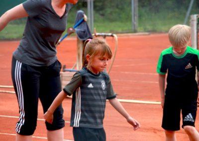 Tennis Konditionstraining Koordinationstraining beim UTHC
