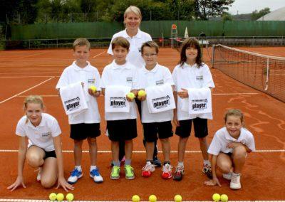 Ausbildung zum Tennis Balljungen und Ballmädchen beim UTHC