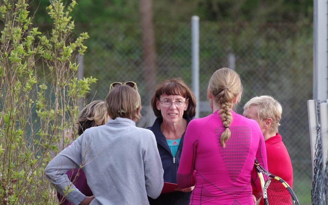 Erster Spieltag für die Damen 40-2 in der Bezirksoberliga