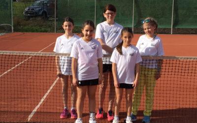 Neue U12 Juniorinnen auf anhieb Tabellenführer