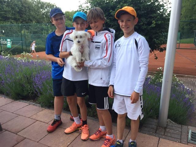UTHC U14-1 erfolgreich in und gegen Königstein