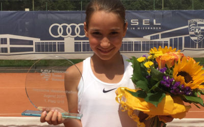 UTHC-Neuzugang Sarah Hamzic wurde Hessenmeisterin
