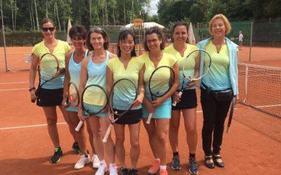 Damen 40-1 steigt nach 6 Siegen in Folge in die Verbandsliga auf