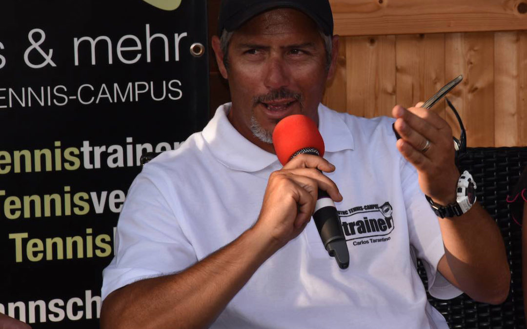 Mit ATP-Weltranglisten Tennisprofi Dante Magnoni jetzt ein weiterer Profitrainer beim UTHC