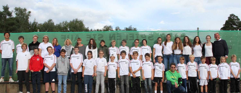 12 erfolgreiche Tennis-Jugendmannschaften