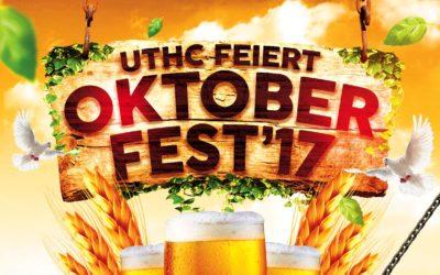 Einladung zum 2. Oktoberfest des UTHC am 14.10.2017