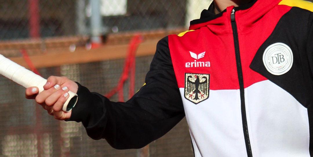 Deutsche Nationaltrainerin Barbara Rittner fördert UTHC-Tennisnachwuchs Mara Guth 2018 im Porsche Junior Team des DTB
