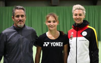 Bundestrainerin Jasmin Wöhr besucht den Usinger THC