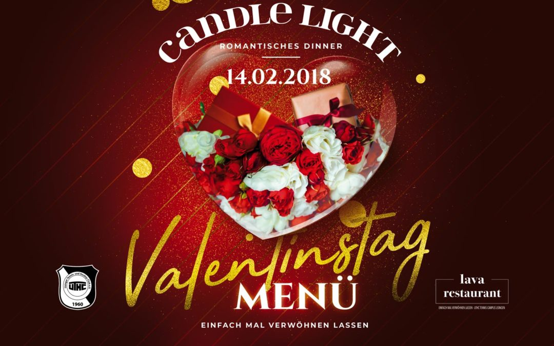 Einladung zum romantischen Candle Light Dinner in Usingen