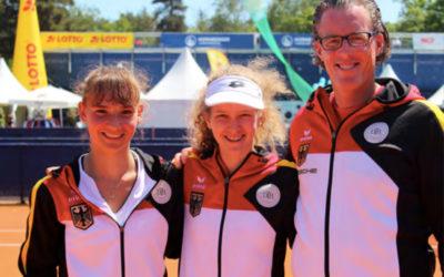 Erster Turniersieg in der ITF Junior Serie für das Duo Middendorf/Guth
