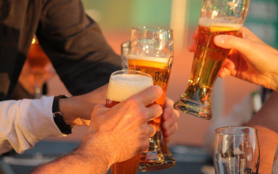 Das UTHC Sommer-Clubhaus öffnet seinen Biergarten in Usingen