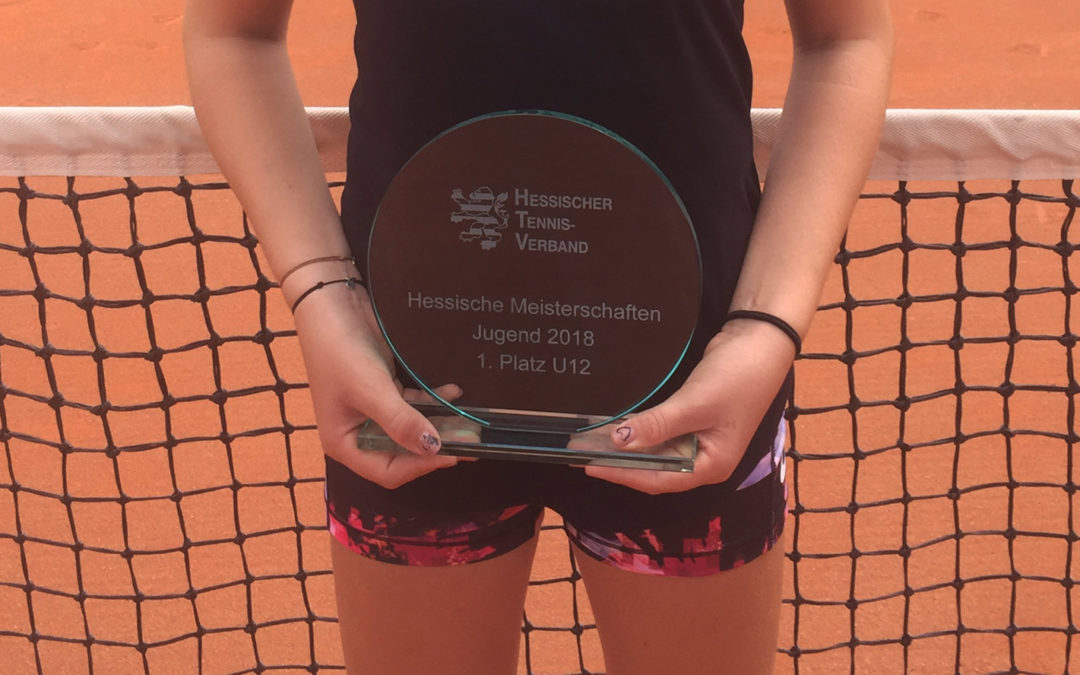 Sophia Kohlstruck erneut Hessenmeisterin 2018