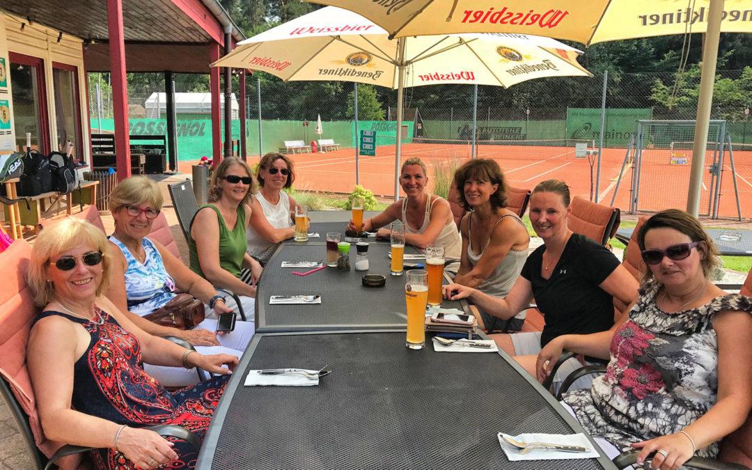 Damen 40/2 gewinnt in der Bezirksliga zu Hause 7:2 gegen den TC Liederbach