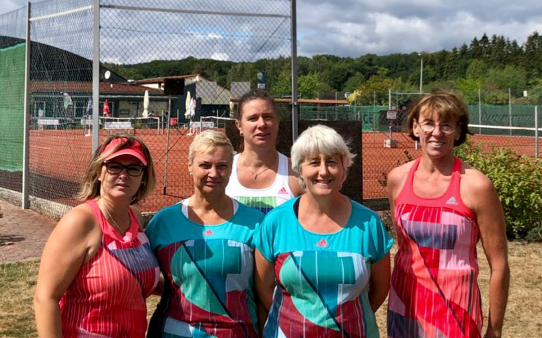 Damen 40-2 gewinnt in der Bezirksliga zu Hause 6:3 gegen den TC Bad Homburg II