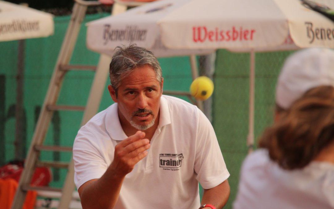 UTHC-Cheftrainer Carlos Tarantino stellt neue Tennistrainer und Trainerstab vor