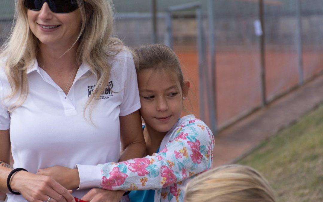 Tennis Konditionstraining und Koordinationstraining mit Myriam Färber