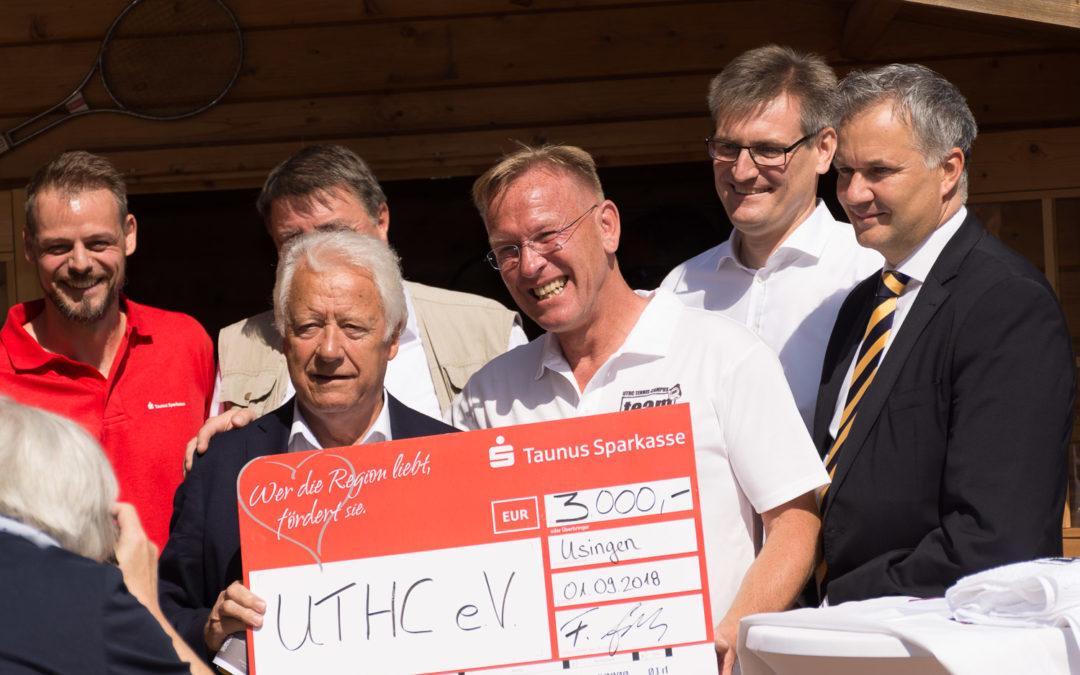 3. Tennis Charity-Event des UTHC präsentierte wieder Promis hautnah zum Anfassen