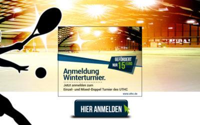 Anmeldung zum Einzel- und Doppel-Winterturnier 2019/2020