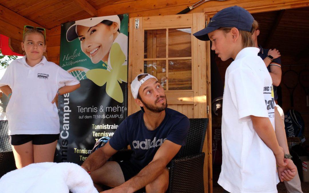 Tim Pütz im Interview, Autogramme, Infos über Roger Federer, Boris Becker und mehr…