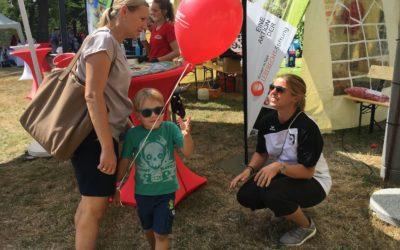 UTHC-Mitglieder unterstützen Leberecht-Stiftung beim Familienfest