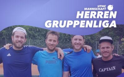 1. Spieltag unserer Herrenmannschaft in der Gruppenliga 2020