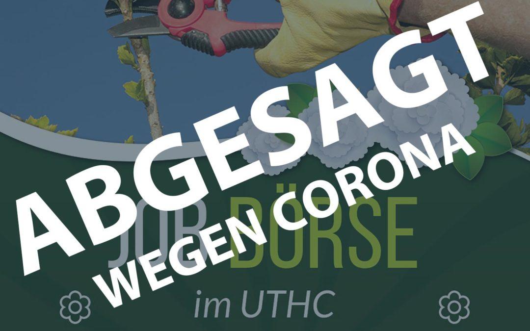 Mach mit – UTHC Jobbörse am 18.04.2020