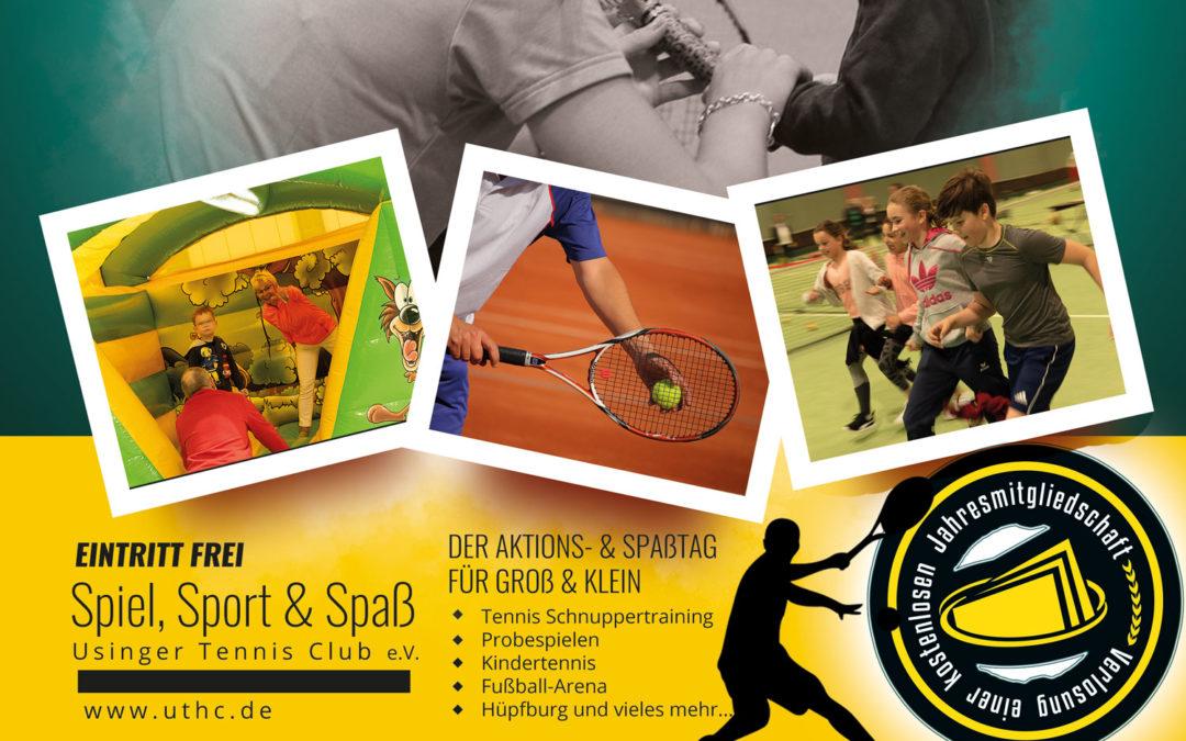 Einladung zum Tennis und Aktionstag 2020 des UTHC