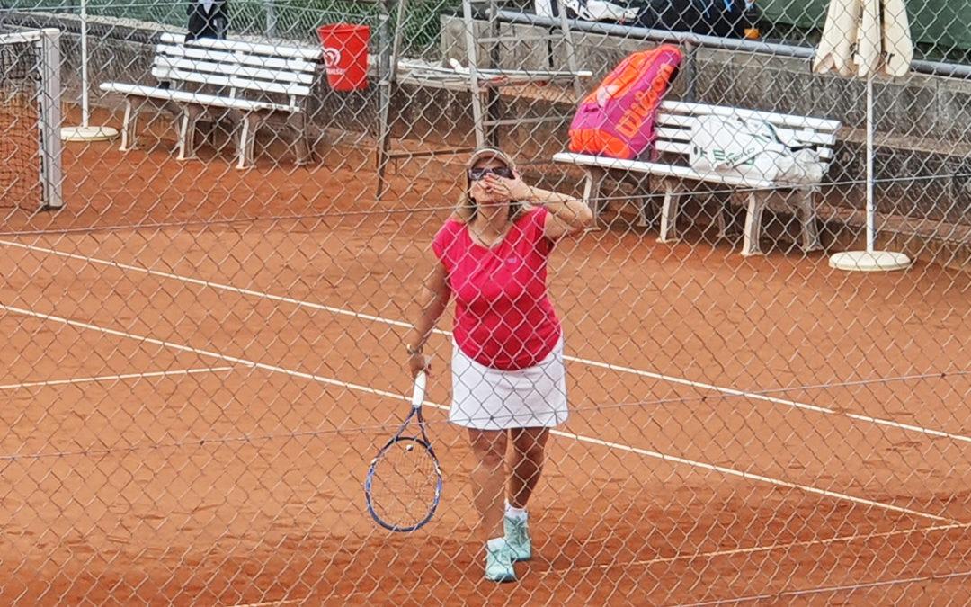 Gut besuchte Tennisanlage – auch in den Sommerferien