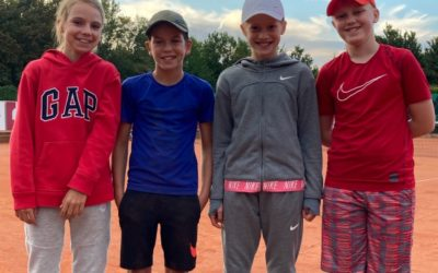 U12 und U14 gemischt – Meister und Vizemeister