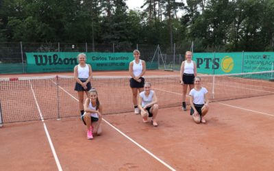 Usinger Sommermärchen der U18 Tennisteens