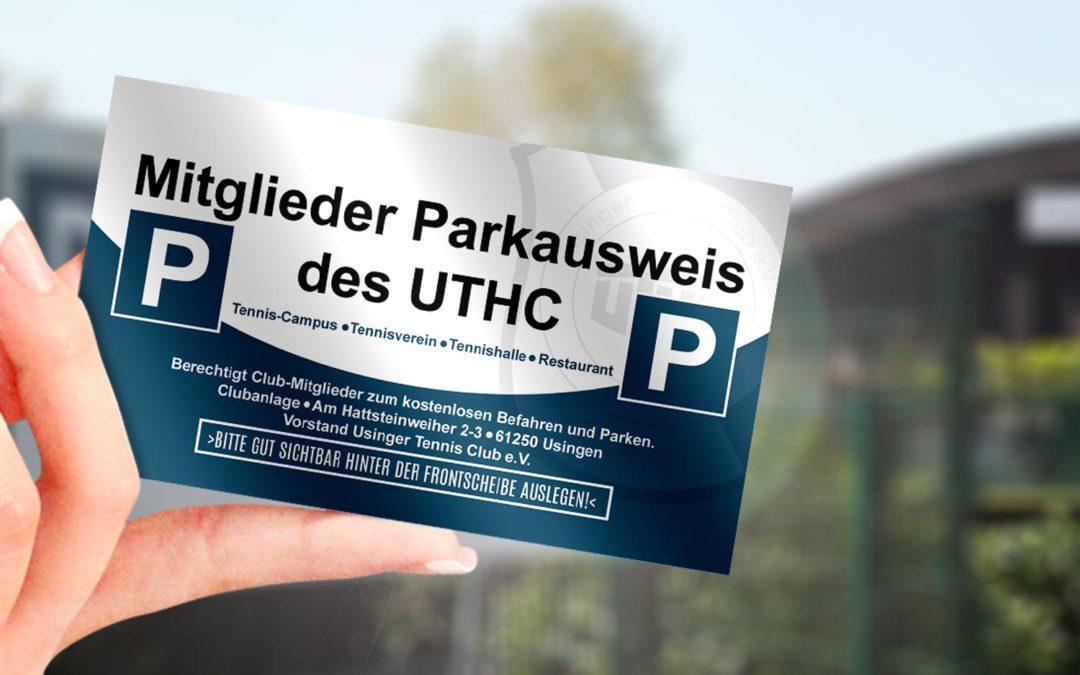 Neue Parkausweise für Club-Mitglieder